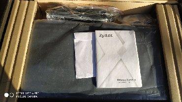 Модемы и сетевое оборудование в Кыргызстан: ZyXel mes3500-24