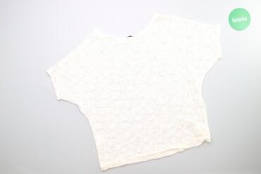 Жіноча ажурна блуза OOCHI, М    Бренд OOCHI Колір білий Розмір М  Довж