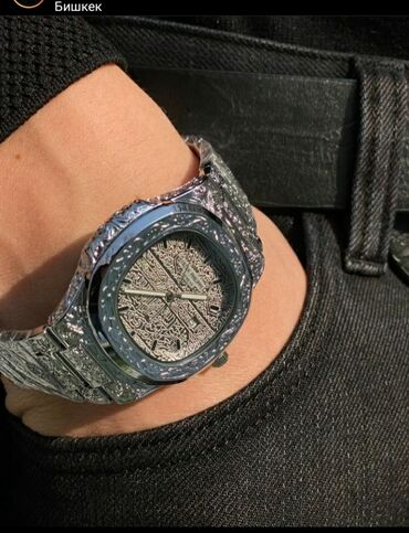 chasy original patek philippe geneve в Кыргызстан: Часы PATEK PHILIPPE ☆Мужские часы☆Кварцевый японский механизм☆Стекло