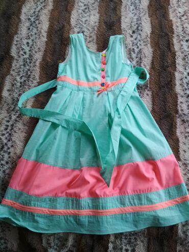 Платье одевали два раза производство Гуанчжоу.На возраст от 6 до 8