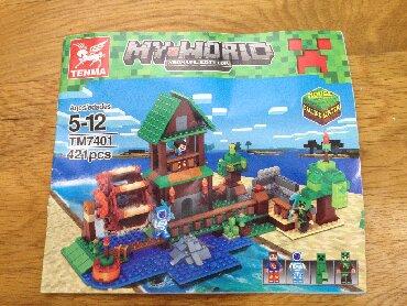 Minecraft konstruktorları - Azərbaycan: Lego не оригинал Minecraft с инструкцией без коробки, из человечков