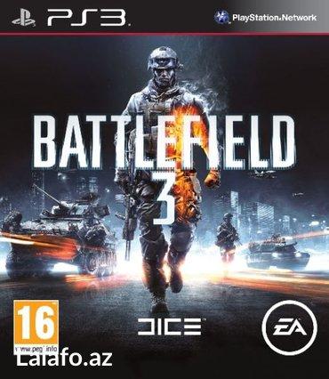 """Bakı şəhərində """"Battlefield 3"""" Ps3 diski"""