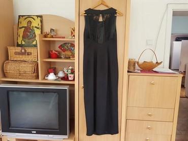 Duga haljina, na ledjima ima cipku, kao nova, 40 - Beograd