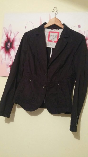 Esprit crni sako jaknica vel 38~40, kao nov oar puta obucen - Nis