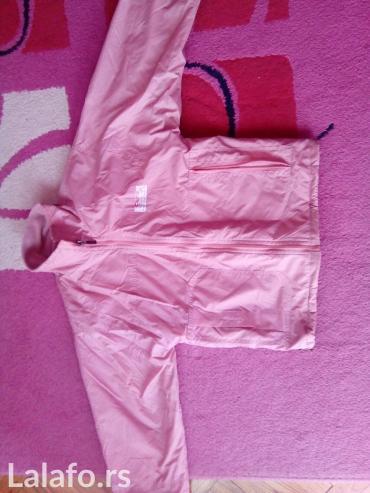 Roze jaknica za decu. Ima dva lica. - Pirot