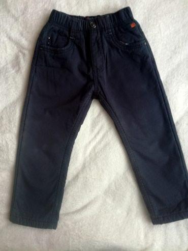 Icine-za-visinu - Srbija: Punjene pantalone za dečaka.Veličina 4-5 godina.Odlične za zimu.Nošene