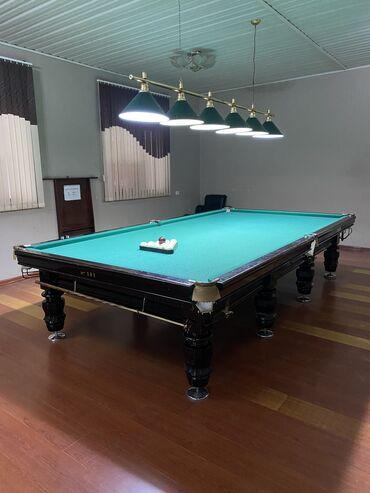 Бильярдный стол 3 комплекта, чёрный графит, шары Бельгийские, возможно