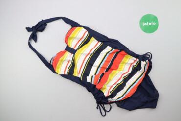 Жіночий суцільний купальник в смужку NEXT, р. М   Довжина: 57 см Напів