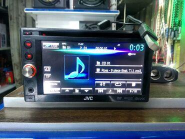 Usb модем ошка - Кыргызстан: Продаю оригинал 2DIN магнитолу JVC KW-AV50 CD/MP3/DVD/USB/AUX/Радио