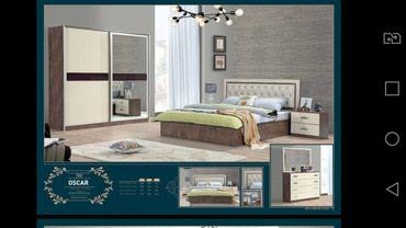деревянная спальня в Азербайджан: Спальняя мебель. Доставка и установка. Матрас.  Кредит возможен