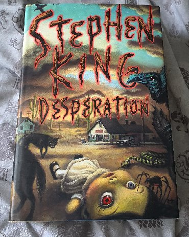DESPERATION STEPHEN KINGThere's a place along Interstate 50 that some