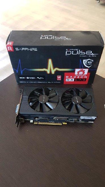 видеокарты amdati radeon в Кыргызстан: Видеокарта Radeon RX 570 4GB DDR5  Состояние отличное! В комплекте