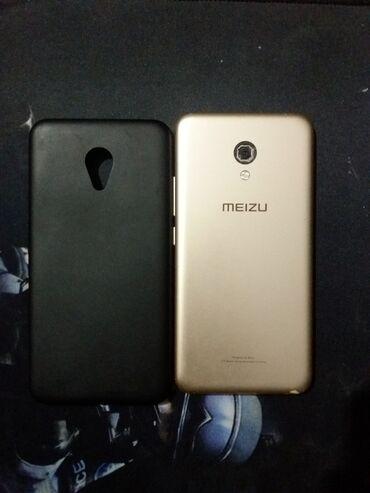 кожаный чехол для meizu m5 note в Кыргызстан: MEIZU M5 Состояние отличное  Память-16гб Задняя камера плохо фотает (м