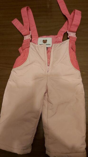 Zenske ski pantalone bele - Srbija: Ski pantalone za bebe,velicina 86