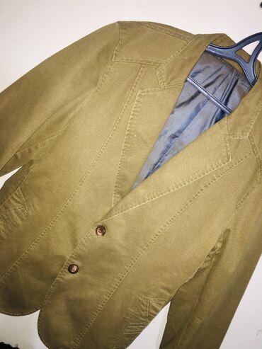 Джинсовая модель блейзер стильный костюм . размер - L, XL разумная