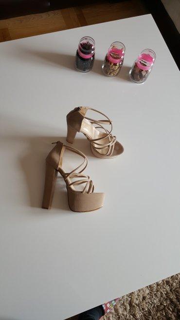 Nove sandale. Velicina 37 ali veci kalup. Odgovara broju 38,38,5. - Palic