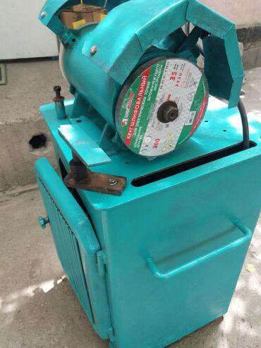 Оборудование для бизнеса в Джалал-Абад: Точильный станок 380в заводской.СССР можно на 220в