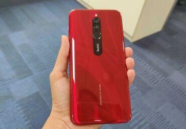 Мобильные телефоны и аксессуары в Душанбе: Новый Xiaomi Redmi 8 64 ГБ Красный