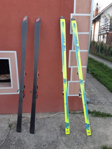 Skije - Srbija: Skije jednom koriscene, u super stanju povoljno. Cena je za oba para
