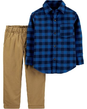 odezhda carters i oshkosh в Кыргызстан: Комплект Carters - рубашка и брюки для мальчиков. В наличии на 3/4/5