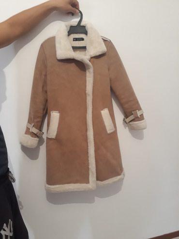 Продаю дубленку, раза 2 одевала. размер М. в Бишкек