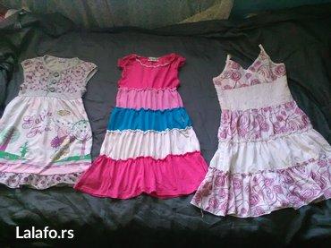 Tri haljinice vel. 8,10 ,12  - Prokuplje