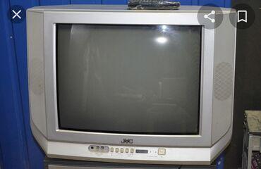 Телевизоры - Бишкек: Продам телевизор jvc,в рабочем состоянии,нужно лишь сделать кнопку