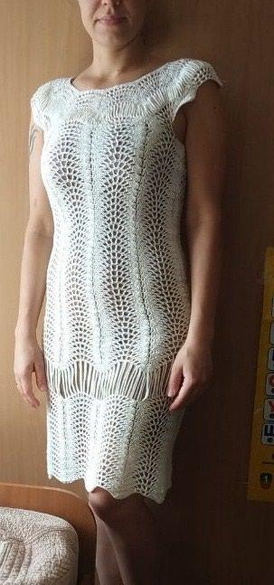 вязаное платье зимнее в Кыргызстан: Вязание на заказ. платья ручной работы