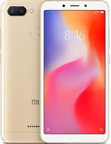 Xiaomi redmi 3x 2 32 gold - Azerbejdžan: Novo Xiaomi Redmi 6 32 GB zlatni