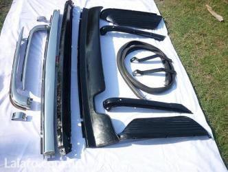 Mercedes Benz W107 Stainless Steel Bumper in Dharan