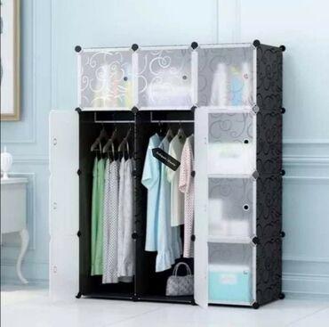 Prenosivi ormarOdličan garderober na rasklapanje koji možete montirati
