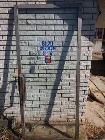 Staklena vrata na prodaju. Dimenzije 206 cm x 91 cm - Jagodina
