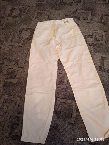 Мужские белые джинсы фирмы Ferre хлопок 46 48размер Италия