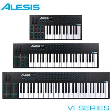 Миди-клавиатураМодели серии VI ориентированы на более продвинутых