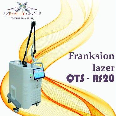 salon üçün yer icarəsi - Azərbaycan: Franksion lazer avadanlığıModel: QTS - RF20Dalğa uzunluğu 10,6