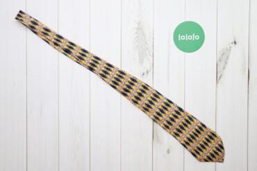 Аксессуары - Украина: Чоловіча стильна краватка з абстракцією    Колір: жовтий Довжина: 134