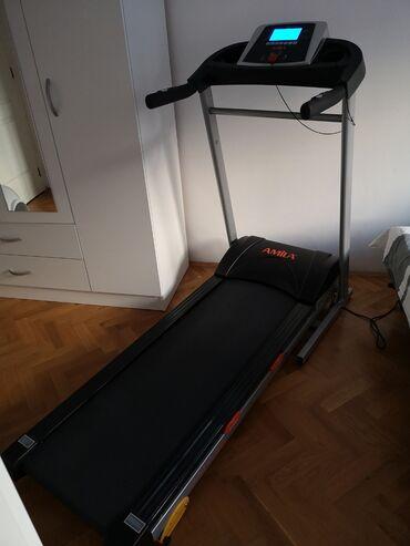 Konzole - Srbija: Na prodaju sobna traka za trčanje marke Amila D200HI kupljena u aprilu