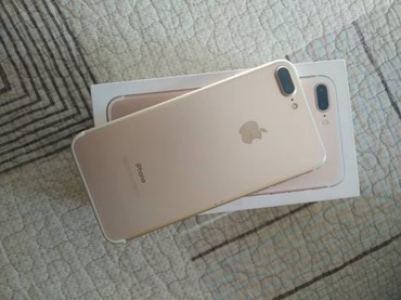Iphone 7+/32 gold коробка документы не рефка без обмена  в Бишкек