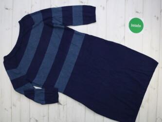 Жіноча сукня-светр в смужку    Довжина: 92 см Рукав: 46 см Напівобхват