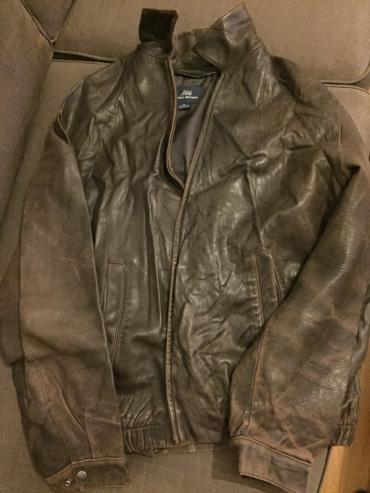 Brooks brothers 346 dark brown men's leather jacket. Second hand. σε North & East Suburbs