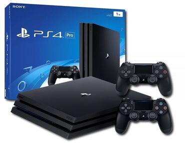 Sony PS4 Pro 4K 1tb Установлено более 20игр, полный комплект + дополни