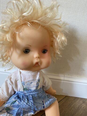 Советская кукла топтыжка, пухляшкаРост-30смСостояние новое, одежда