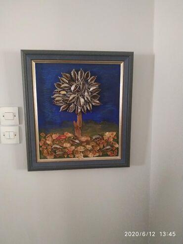 Πίνακας με πλάτος 47cm και ύψος 57cm από τον Σ.Βλαχακοςσε καλή
