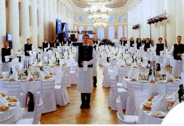 требуются официанты в кафе  обязанности : работа с клиентами  обслужив в Бишкек