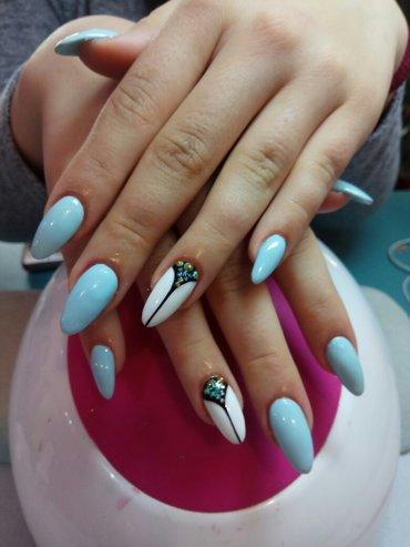 Маникюр,педикюр, наращивание ногтей ( гель акрил) проблемные ногти   в Бишкек