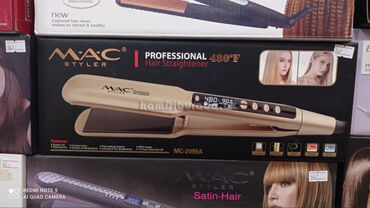 Saç Düzləşdirici Fen Mac MC-2095Marka:MacGüc:45 vattQızdırıcı element