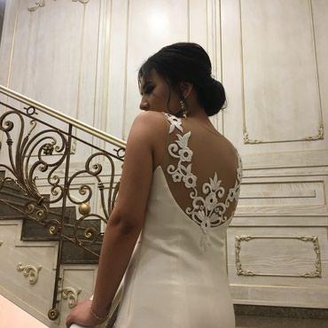 Продаю белое платье, надевала один в Бишкек