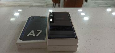 Электроника в Загатала: Б/у Samsung A7 64 ГБ Синий