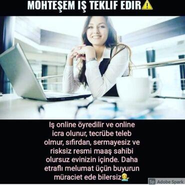 встроенная вытяжка 45 в Азербайджан: Консультант сетевого маркетинга. Safe business. 30-45 лет. Сменный график. 8-ой километр р-н