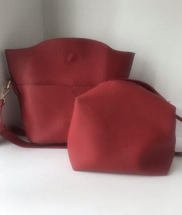 сумка жен в Кыргызстан: Продаю женскую сумку 2в1 состояние отличное